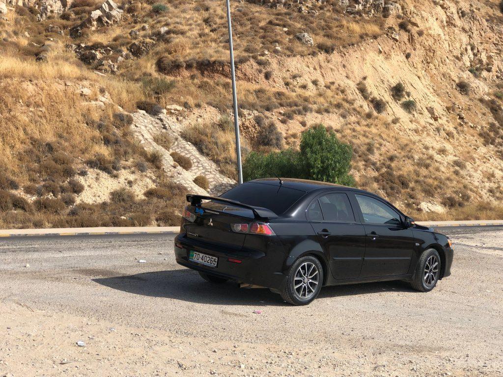 Mašinos nuoma Jordanijoje.